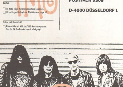 TMO Ramones merchandising