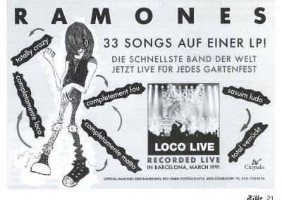 1991 Zillo – Ger – Loco Live – Chrysalis