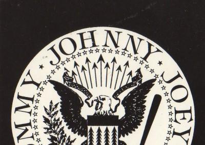 Ramones logo Tommy