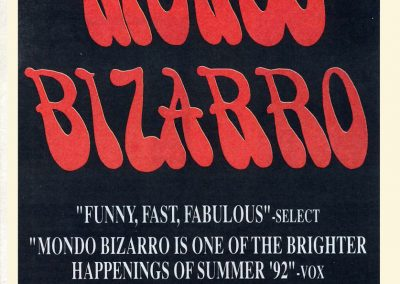 1992 Melody Maker – Uk – Mondo Bizarro
