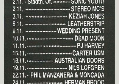 1992 Spex – Ger – Ramones Live A Francoforte