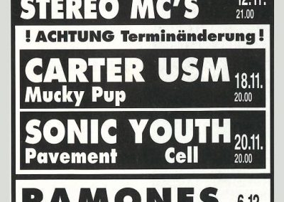1992 Spex – Ger – Ramones Live A Hannover