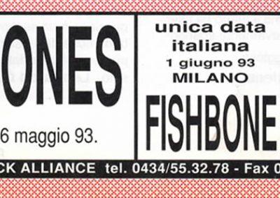 1993 Rumore – Ita – In arrivo Tour Ramones