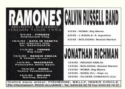 1993 Mucchio Selvaggio – Ita – Tour Mondo Bizarro da confermare