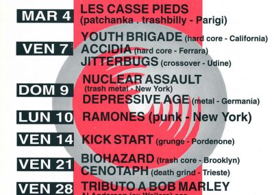 1993 Rotopalco – Ita – Ramones Live A Gaio di Spilinbergo (Pn)
