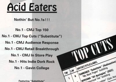 1994 ???? – Usa – Ramones Acid Eaters RadioActive + Top cuts
