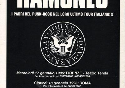 1995 Dynamo! – Ita – Ramones Ultimo Tour Italiano