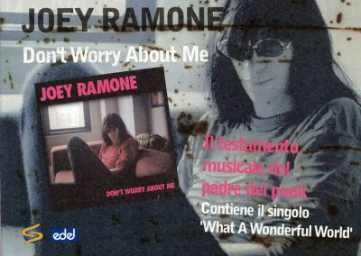 2002 Psyco – Ita – Joey Ramone ‎Don't Worry About Me