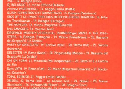 2004 Rumore – Ita – Tour Marky Ramone & Misfits