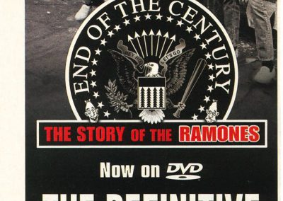 "2005 Alternative Press – Usa – Dvd ""End of the century"""