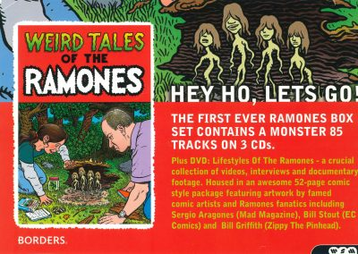 2005 Classic Rock – Uk – Weird tales of the Ramones – Borders