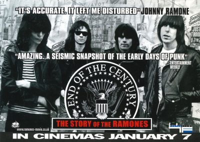 "2005 Mojo – Usa – Film ""End of the century"" – Tartan Films"