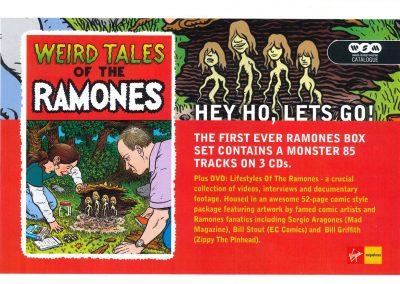 2005 Q – Uk – Weird tales of the Ramones – Virgin Megastore