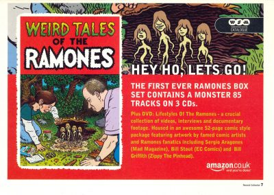 2005 Record collector – Uk – Weird tales of the Ramones – Amazon