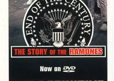 "2005 Spin – Usa – Dvd ""End of the century"""
