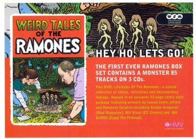 2005 Mojo – Uk – Weird tales of the Ramones – HMV
