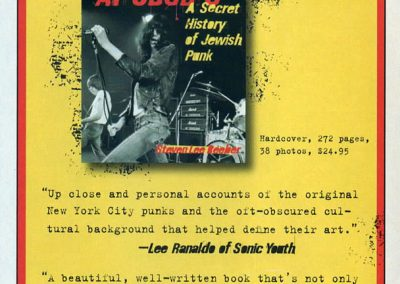 2007 Punk Magazine – Usa – The Heebie-Jeebies at CBGB's
