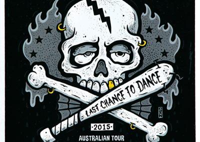 15/2/2015 Cj Ramone Australian tour