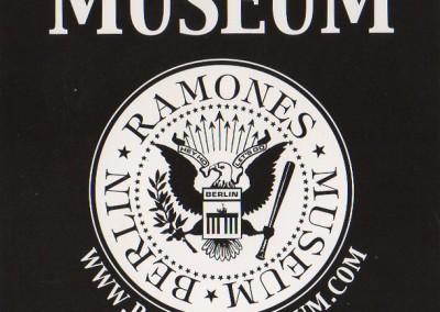 Ramones museum/cafe mania Berlin