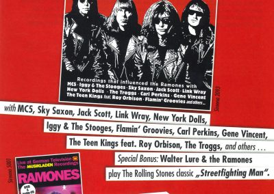 2011 Vive Le Rock – Uk – Musikladen + Deep Roots Of Ramones