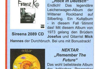 2011 ???? – Ger – Dvd Musikladen Sireena rec. Sommer