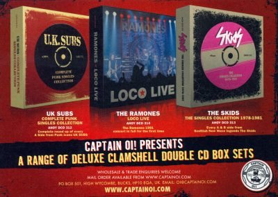 2012 ???? – Uk- Box Loco Live Captain Oi!