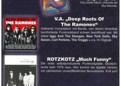 2012 Eclipsed – Ger – Compilation Deep Roots Of Ramones