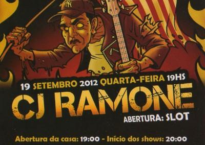 Cj Ramone Reconquista South America tour 2012