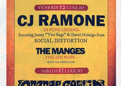 2013 Rumore – Ita – Live CJ Ramone versione differente