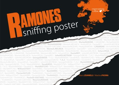 Ramones Sniffing Poster