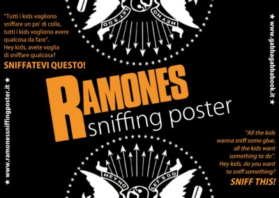 Ramones Sniffing Poster 2014