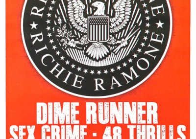 20/4/2015 Richie Ramone Portland Oregon
