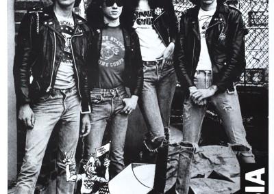 1977 Ramones Rocket nero