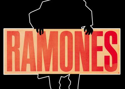 1981 Ramones Pleasant sagomato