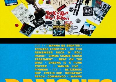 1988 Ramones Ramonesmania flat