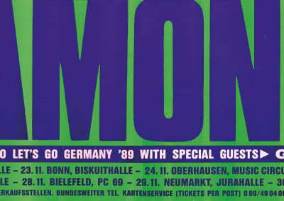 1989 Ramones Germania tour