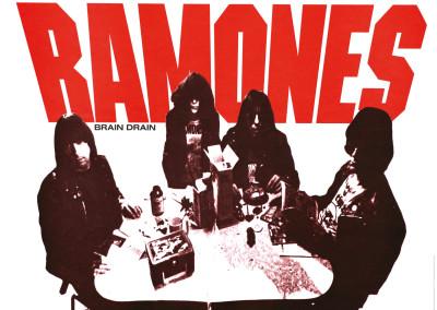 1989 Ramones Brain Drain
