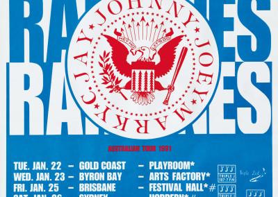 1991 Ramones – Australia tour