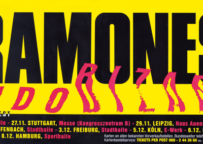 1992 Ramones Germany tour