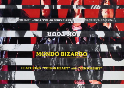 1992 Ramones Mondo Bizarro tour