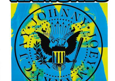 1994 Ramones 20° azzurro e giallo