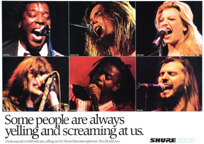 1995 Joey Ramone microphone