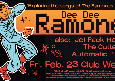 2001 Dee Dee Ramone Hollywood
