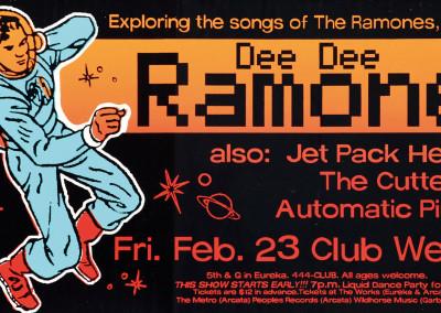 2001 Dee Dee Ramone Hollywood