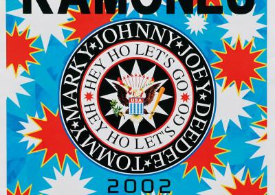 2002 Ramones Hall of fame