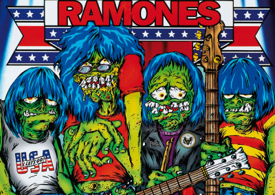 2003 Ramones happy family