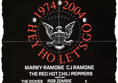 2004 Ramones 30° anniversario