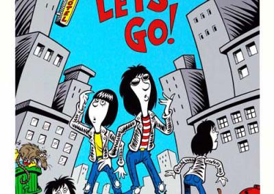 2005 Ramones Weird Scott Shaw