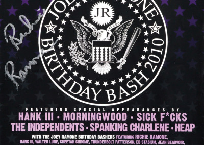 2010 Joey Ramone Birthday bash
