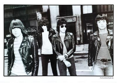 Ramones poster foto 1981